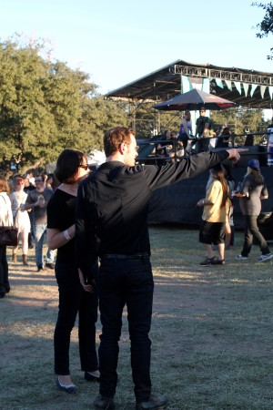 Michael Fassbender at Fun Fun Fun Fest, 2012. Photo by Laurie Lyons.