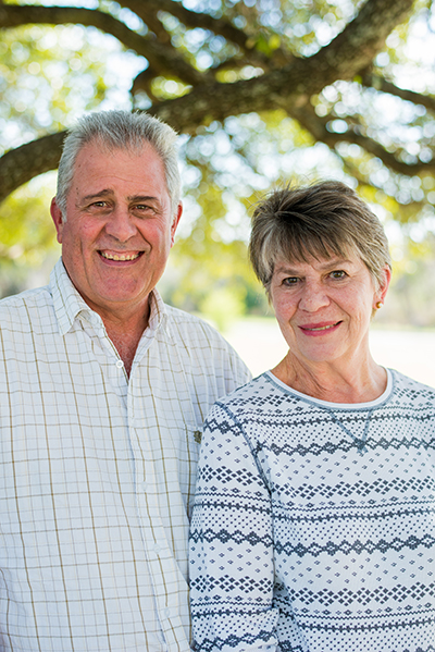 Andre and Charlotte Bothma of Happy Vegan Baker.