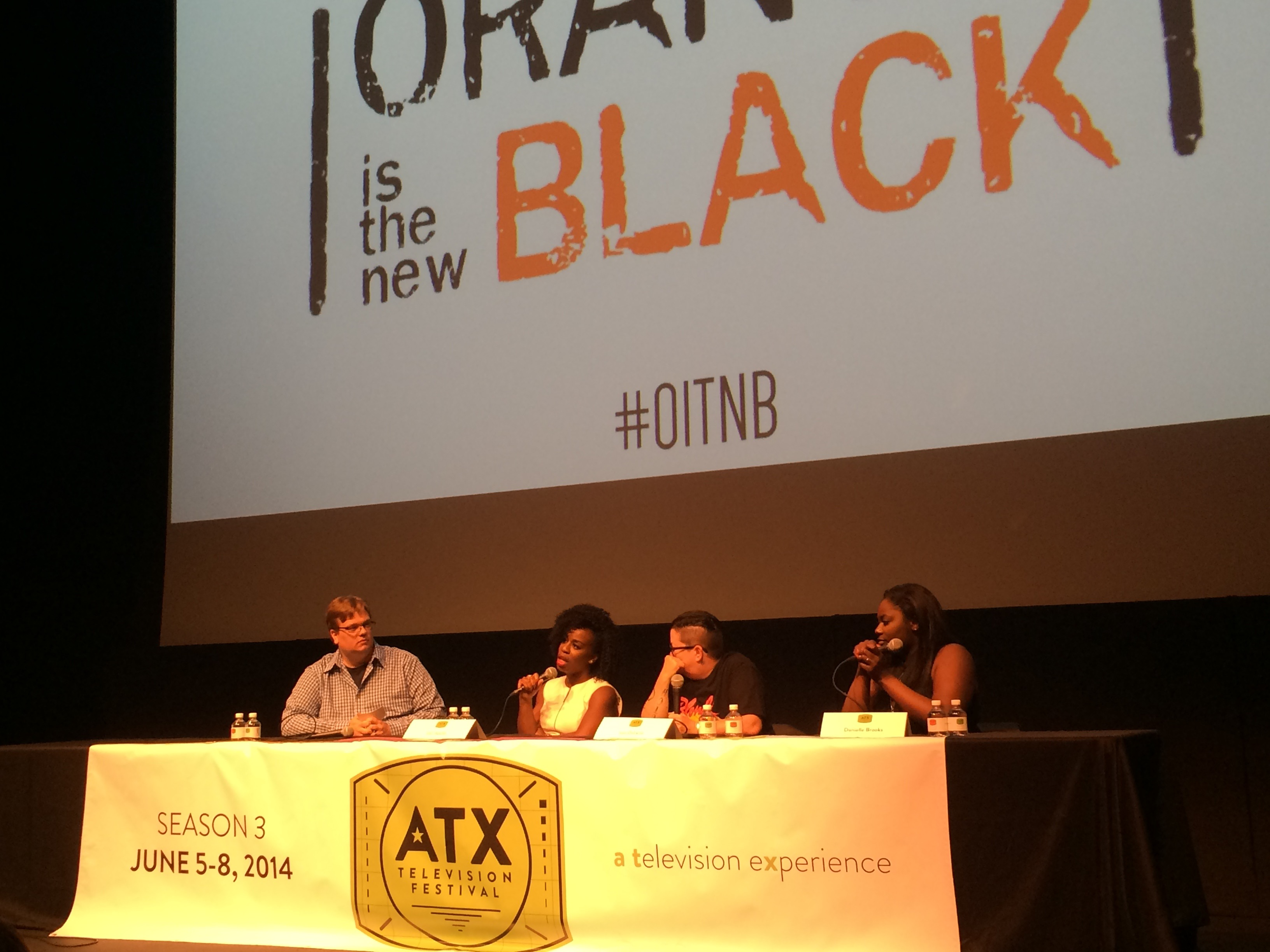 "Cast members of ""Orange is the New Black"" at ATX Television Festival"