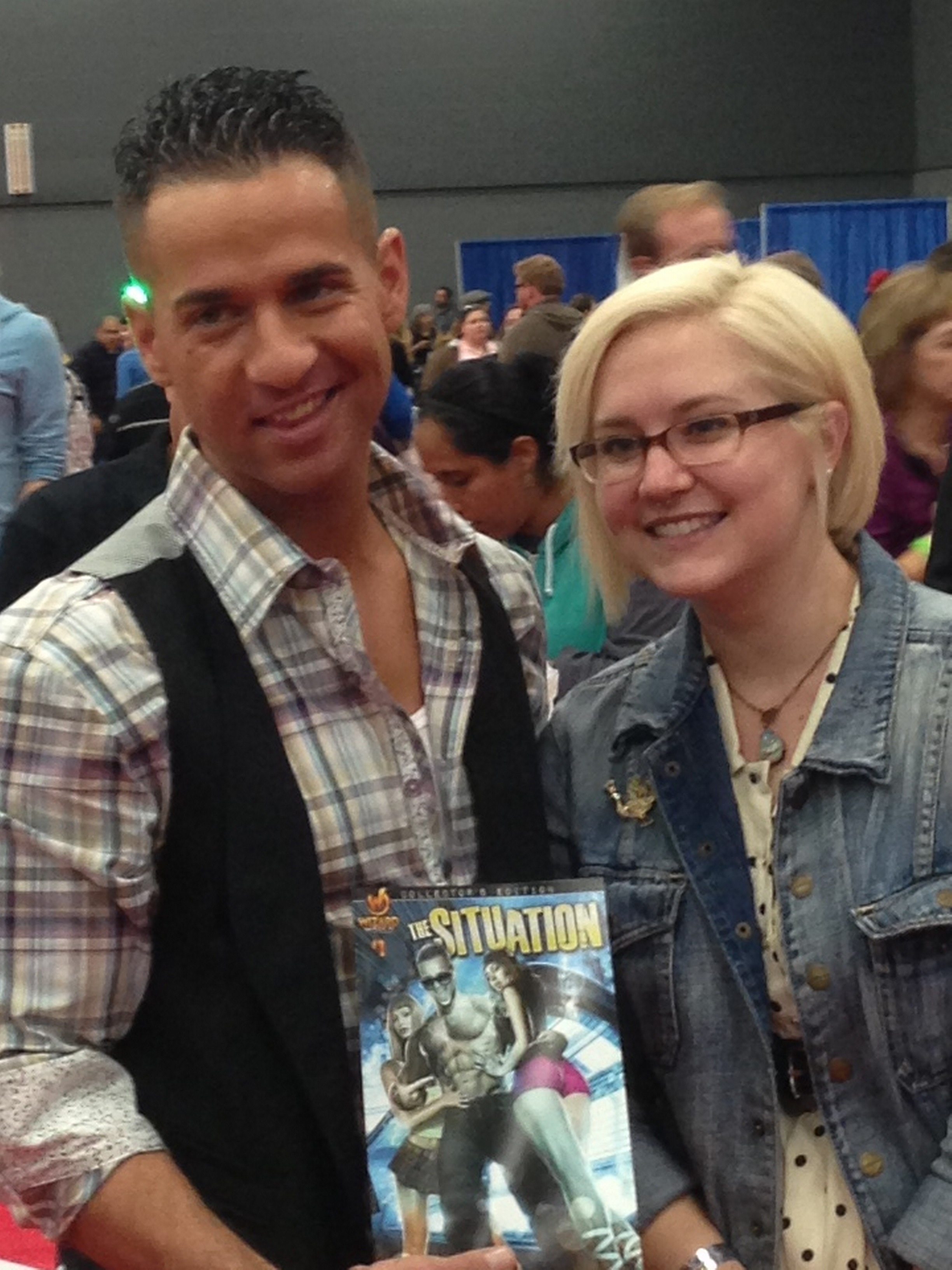 """The Situation"" at Austin Comic Con"