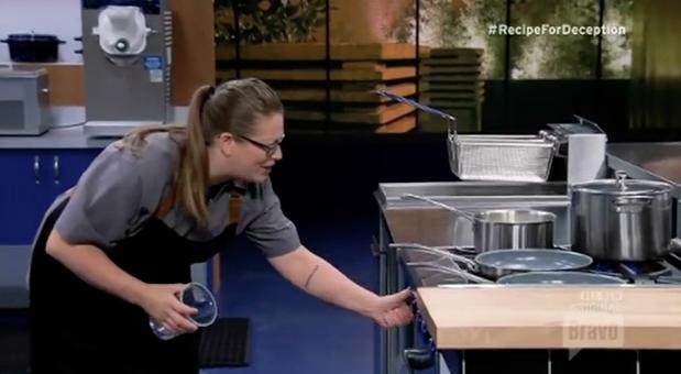 "Abby Yates on Bravo's ""Recipe for Deception,"" Episode 109."