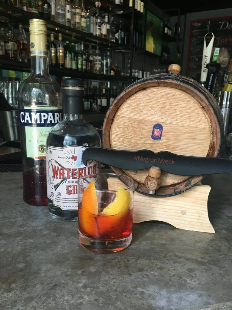District Aged Negroni, photo courtesy of District Kitchen