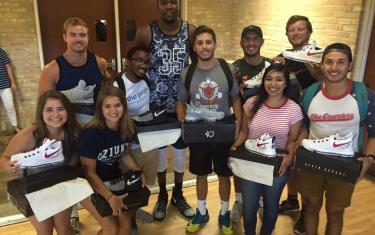 Kevin Durant Makes Kids' Hoop Dreams Come True In Austin