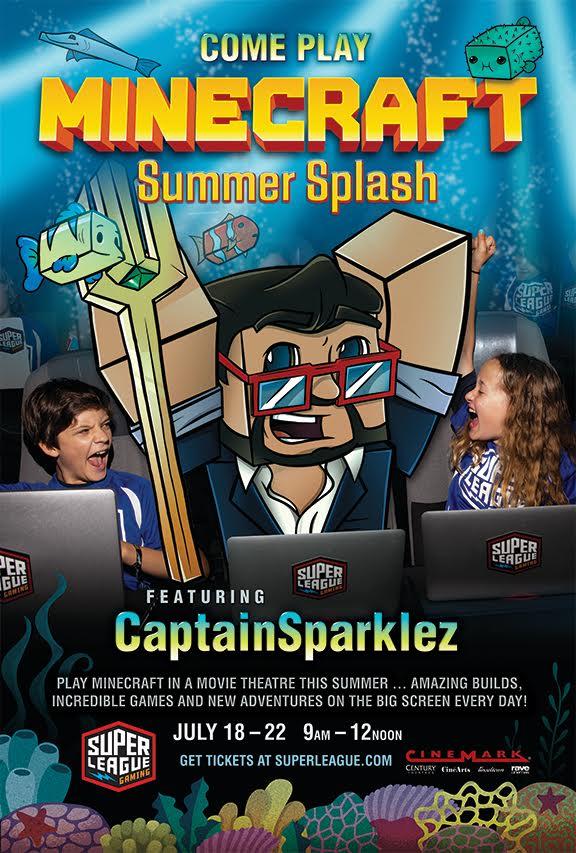 Minecraft Summer Splash
