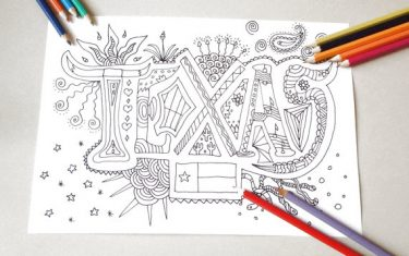 You'll Love These Austin Inspired Coloring Books No Matter Your Age