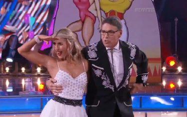 Watch Rick Perry Prove He's A Better Dancer Than Debater