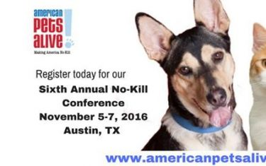The 2016 No-Kill Conference, Nov. 5-7