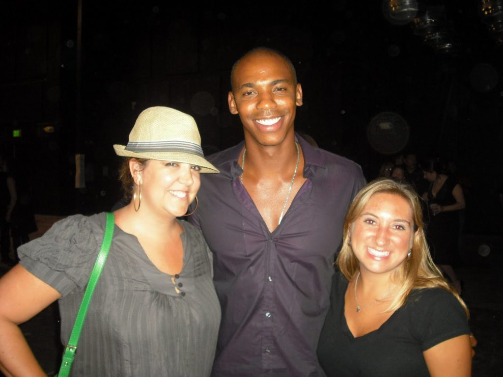 Mehcad Brooks at the Machete premiere after party in Austin in 2010.