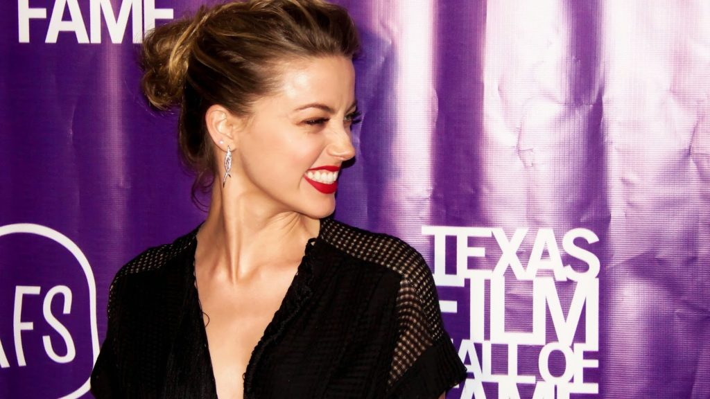 Amber Heard at the Texas Film Hall of Fame Awards in Austin in