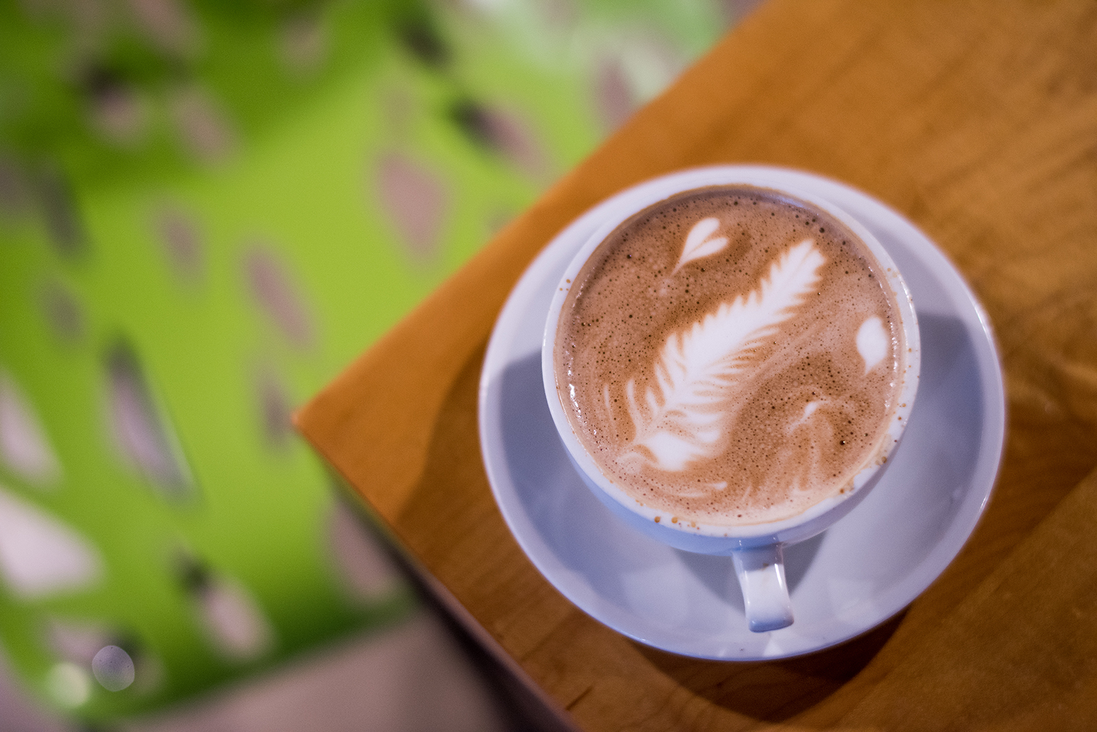 Caffe Medici mocha coffee Rebecca L. Bennett Brave Bird Photography Austin Texas