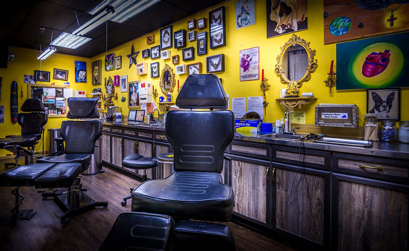 Here 39 s your inked up guide to some of austin 39 s for Norristown tattoo shops