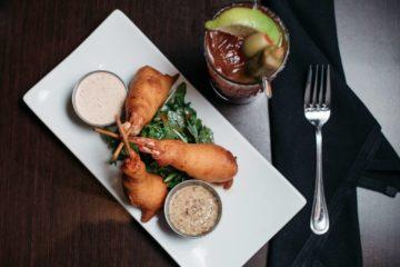 North Austin happy hour food! Photo courtesy of Copper Restaurant & Dessert Lounge.