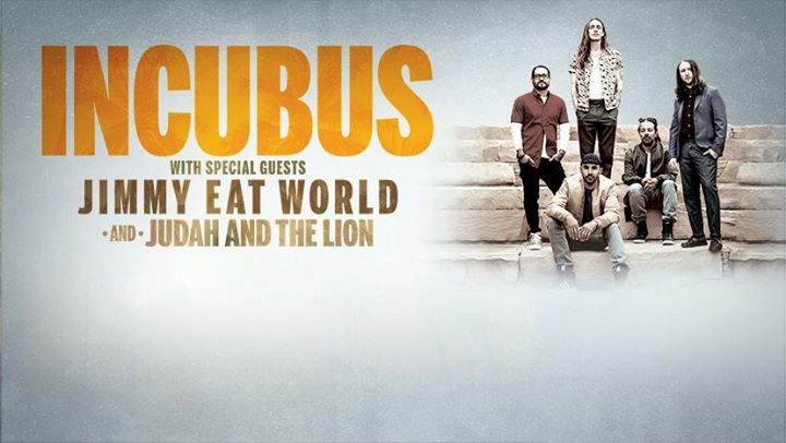 8 tour incubus with special guests jimmy eat world. Black Bedroom Furniture Sets. Home Design Ideas