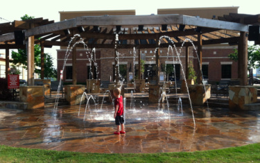 Hill Country Galleria Splash Pad