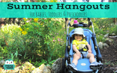 Austin Summer Hangouts for Babies, Toddlers, and Preschoolers