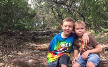 Family Hiking at Wild Basin Wilderness Preserve