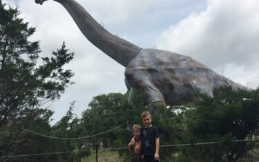 These Are Our Top Spots For Kids Who Love Dinosaurs In Austin