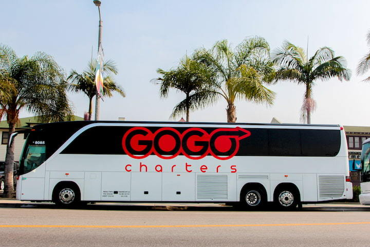 GoGo Charters bus