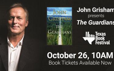 "John Grisham presents ""The Guardians"" with Texas Book Festival"