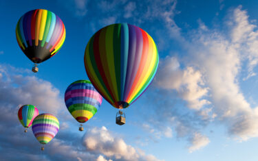 Look Up! Liberty Hill is Hosting a Hot Air Balloon and Sculpture Festival This Weekend!