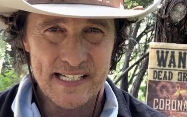 Matthew McConaughey Teaches You How to Make a Bandana Face Mask