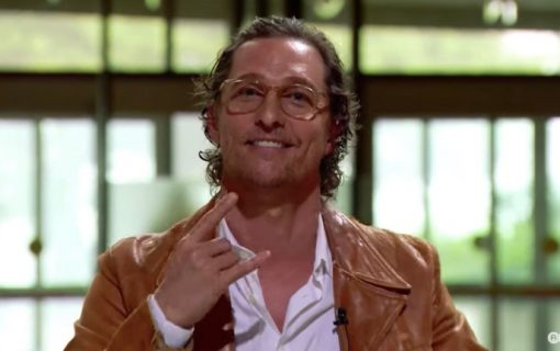 Minister of Culture Matthew McConaughey Warns UT Students About the Threat of COVID-19