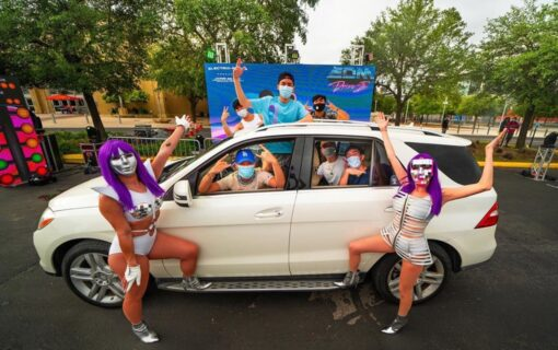 Inside The First-Ever EDM Drive-In Music Festival Experience