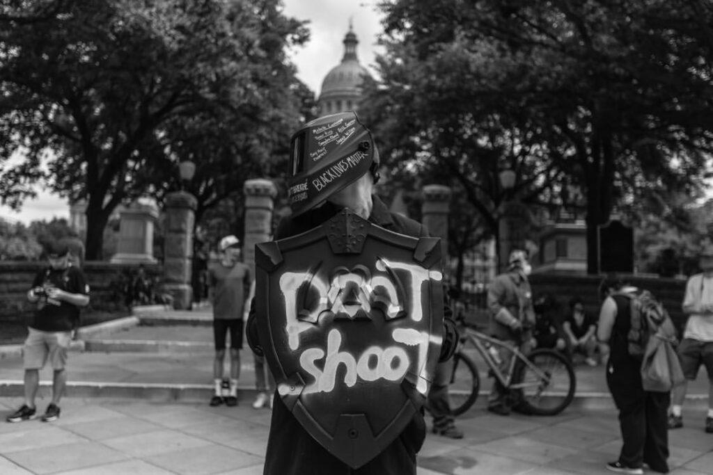 Protest - Sam Mann Pic