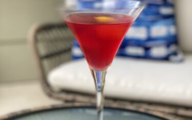 Get Your Summer Sip On With This DIY Drink Recipe: Bevo's Blood Orange Cosmo