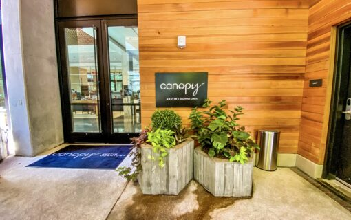 Go Inside the Canopy by Hilton on West 6th Street in Downtown Austin