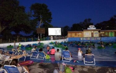 Hawaiian Falls Water Park Offers Dive-In Movies, Fireworks, and Summer Concerts