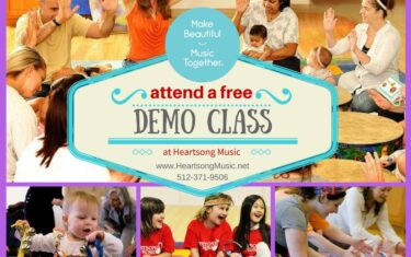 Give Your Kids the Gift of Music — It's Time for Heartsong's FREE Demo Days!
