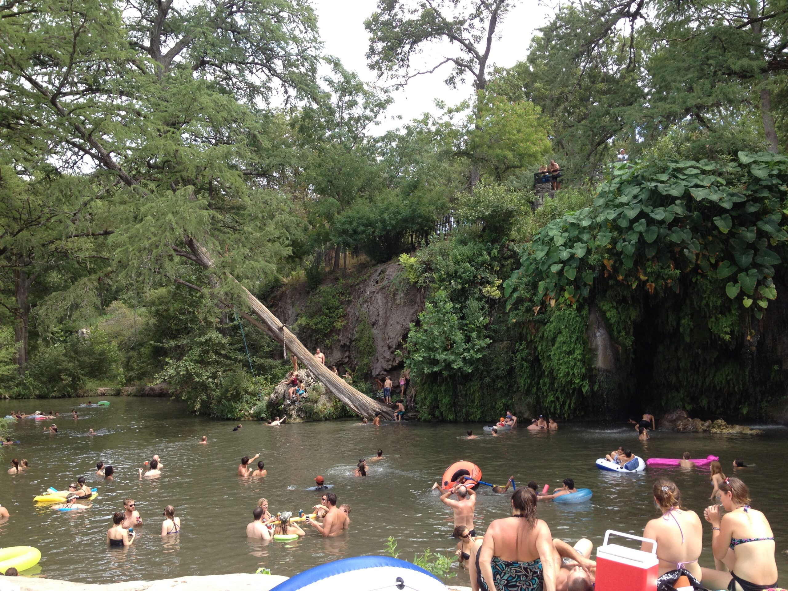 Krause Springs in Spicewood