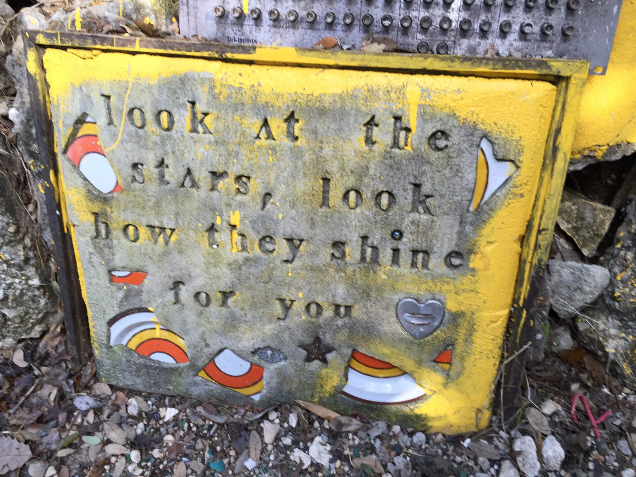 Cathedral of Junk - A lovely message