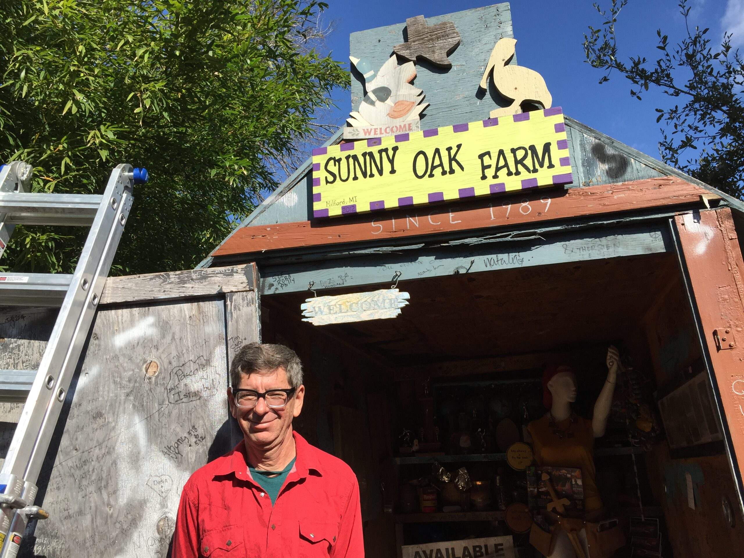Cathedral of Junk - Vince — creator, owner and curator of the Cathedral of Junk