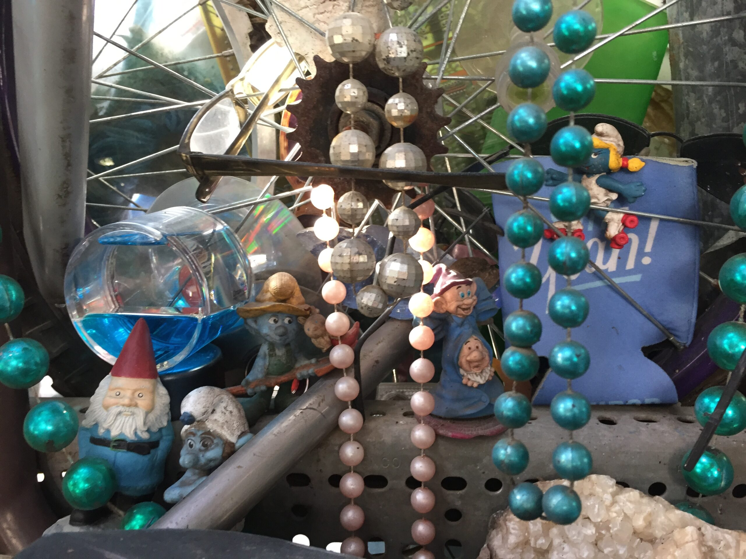 Cathedral of Junk - Just one of the fascinating little tableaux