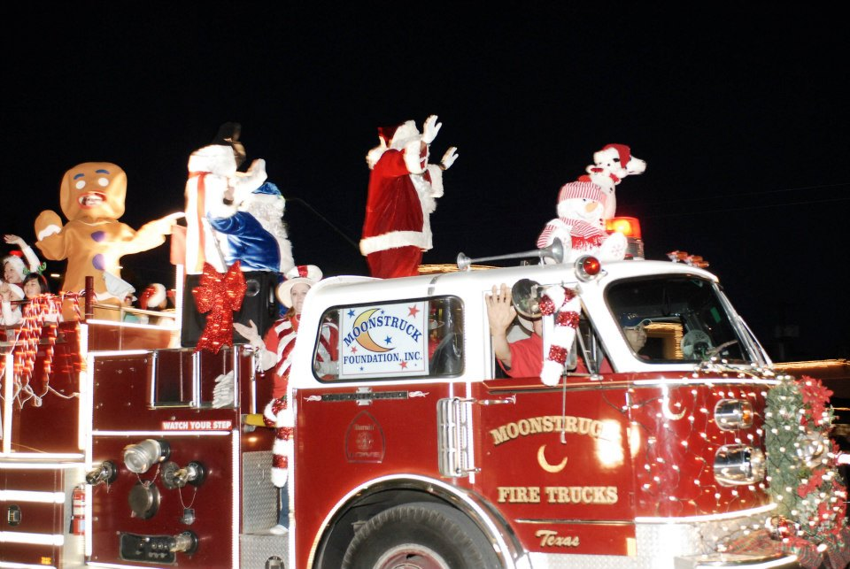 The 37th annual Alamo Heights Holiday Parade in San Antonio