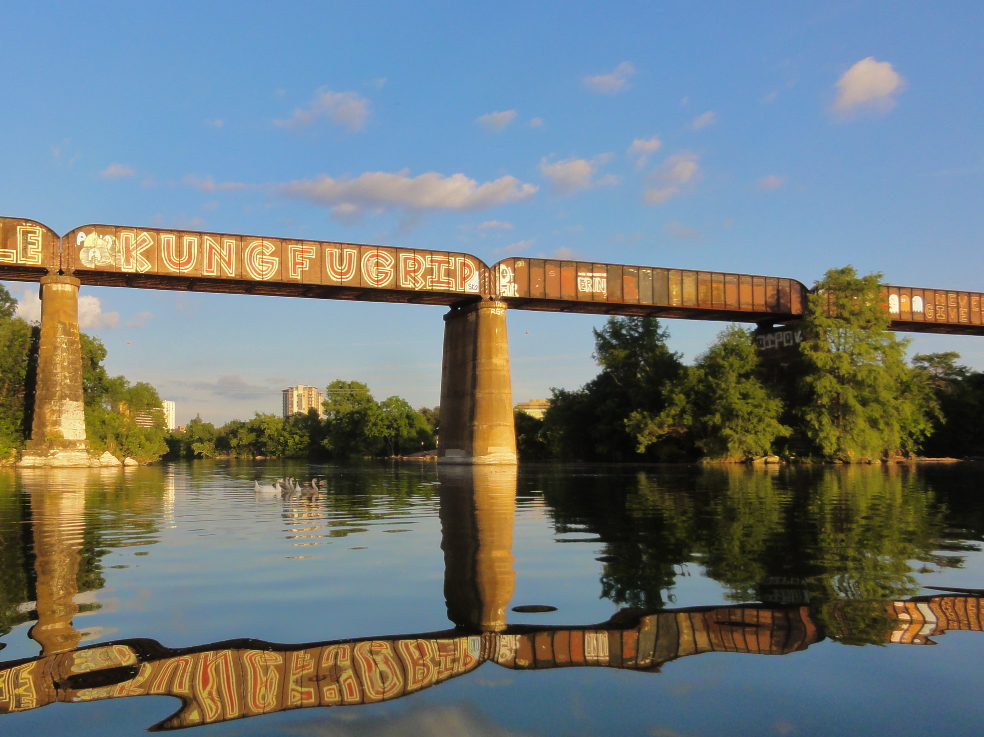 Railroad Bridge Mural