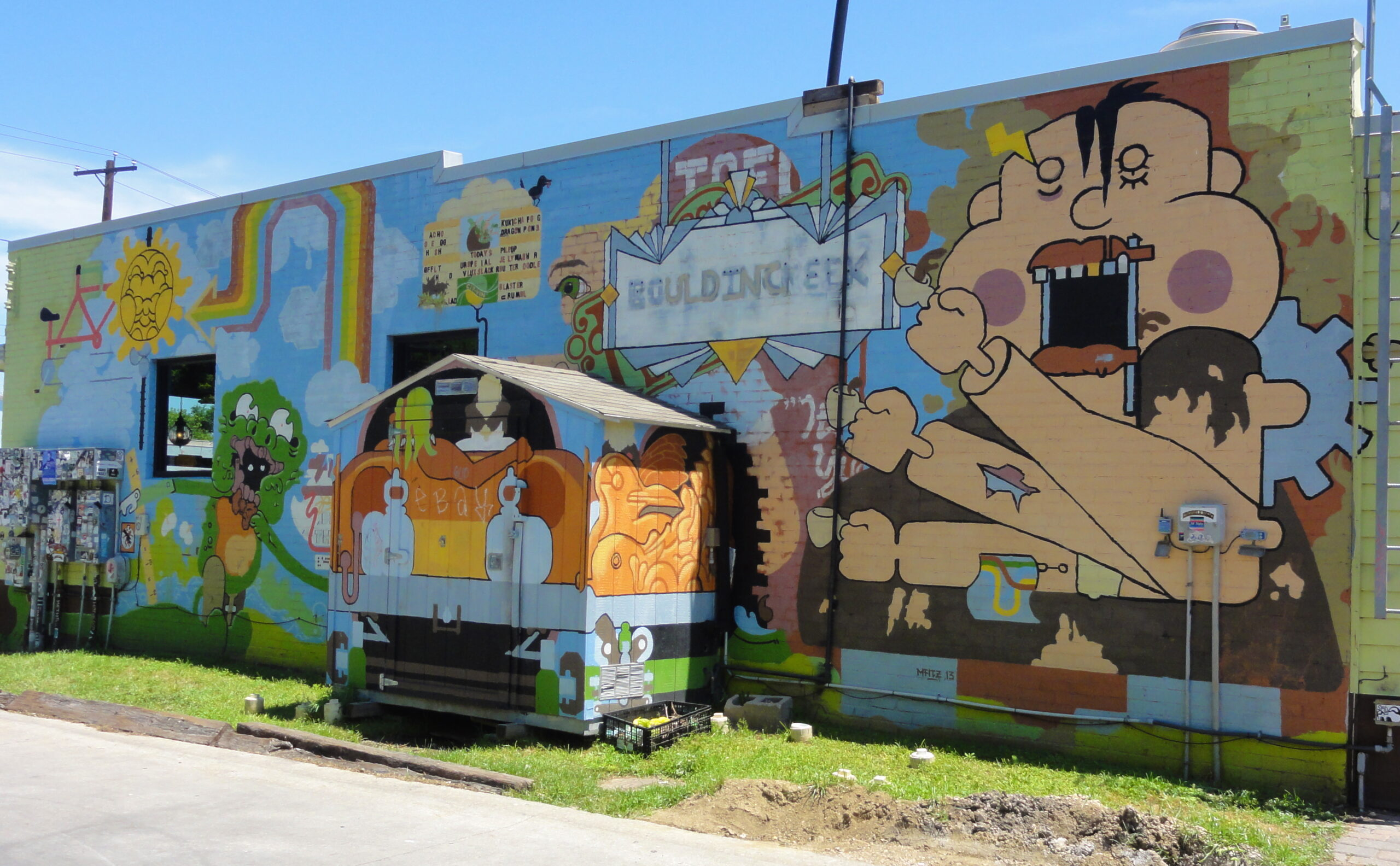 Bouldin Creek Murals