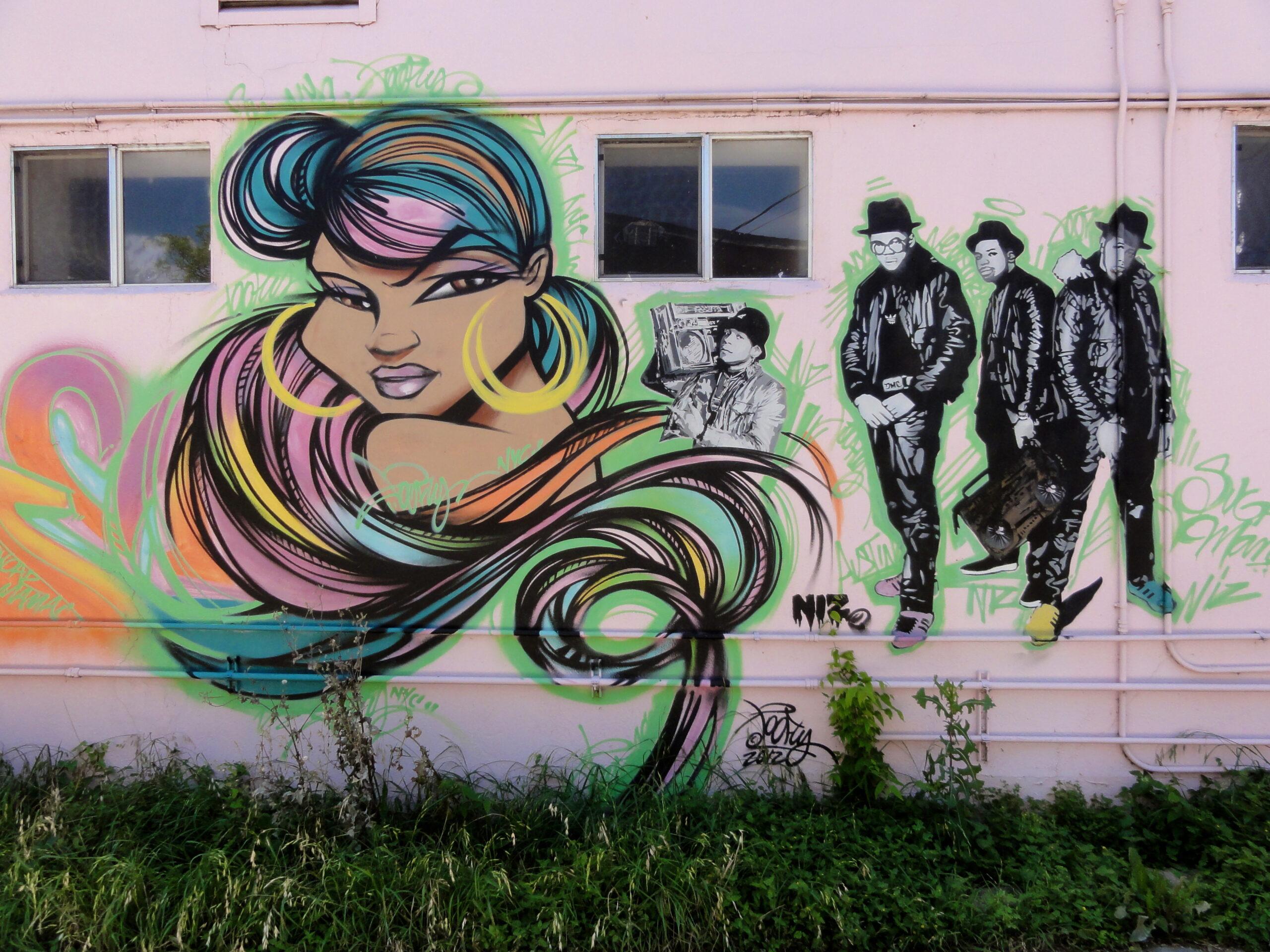 Run DMC Mural