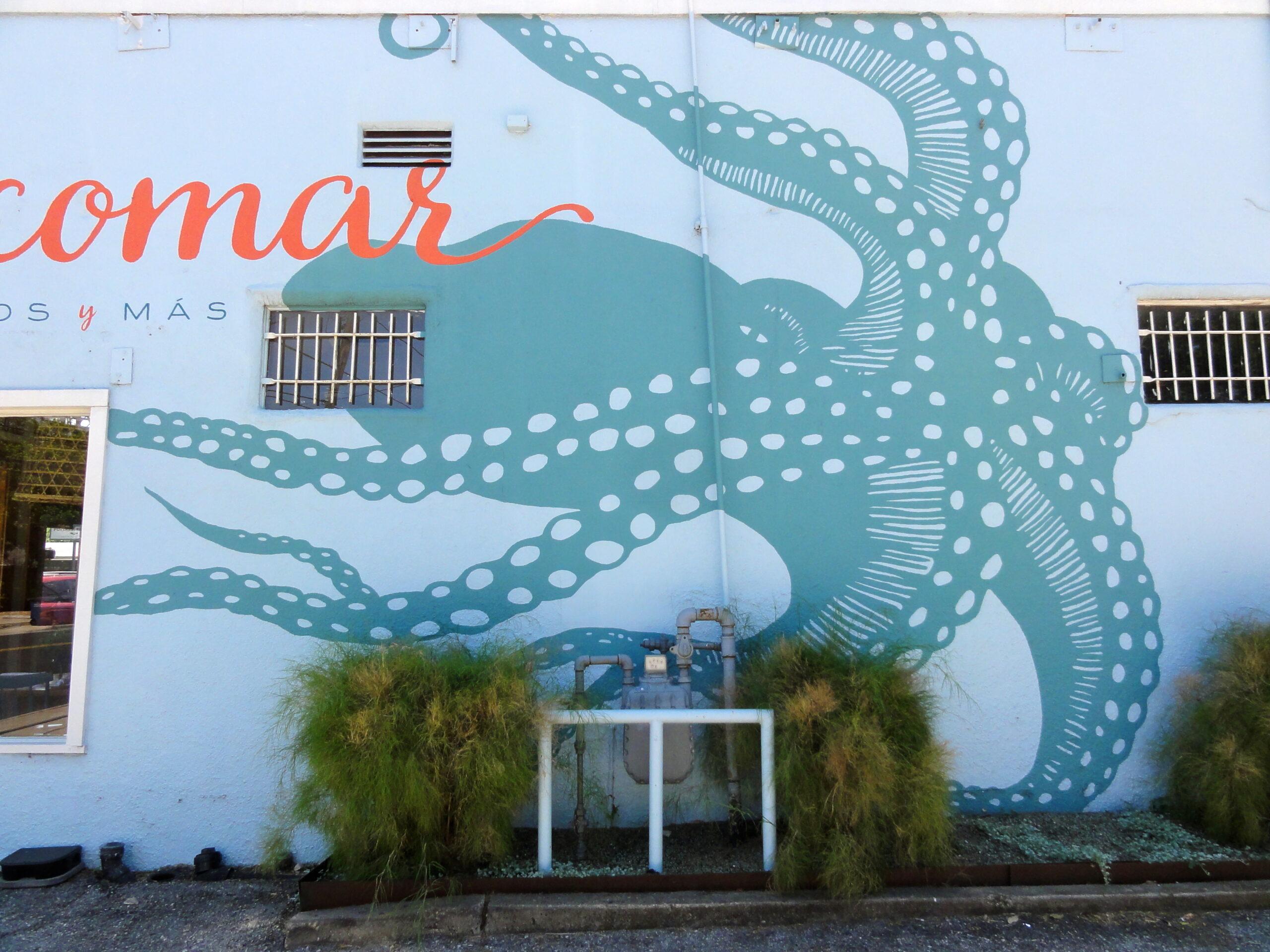 Alcomar Octopus Mural