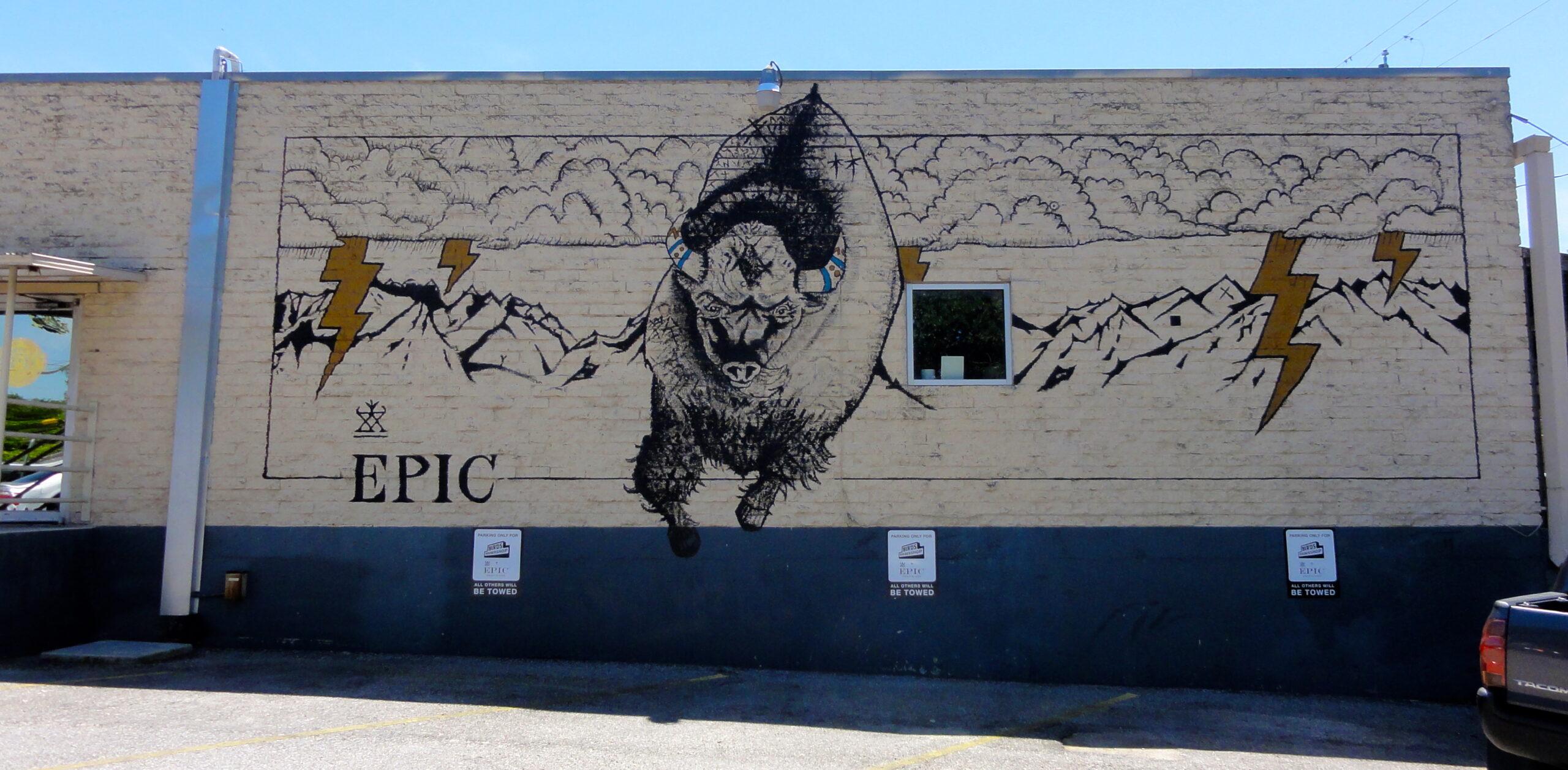 Birds Buffalo Mural