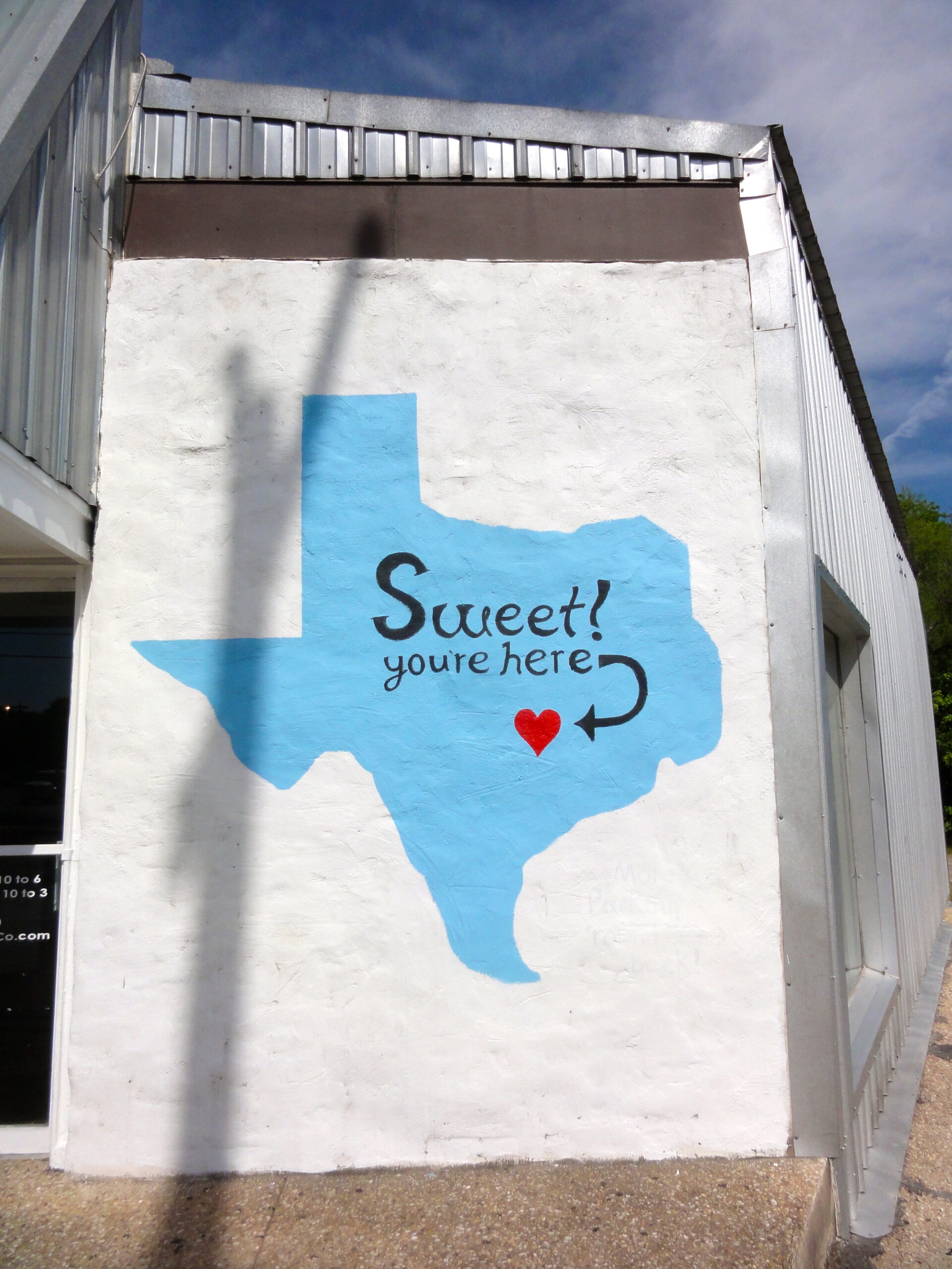 Sweet You're Here Mural