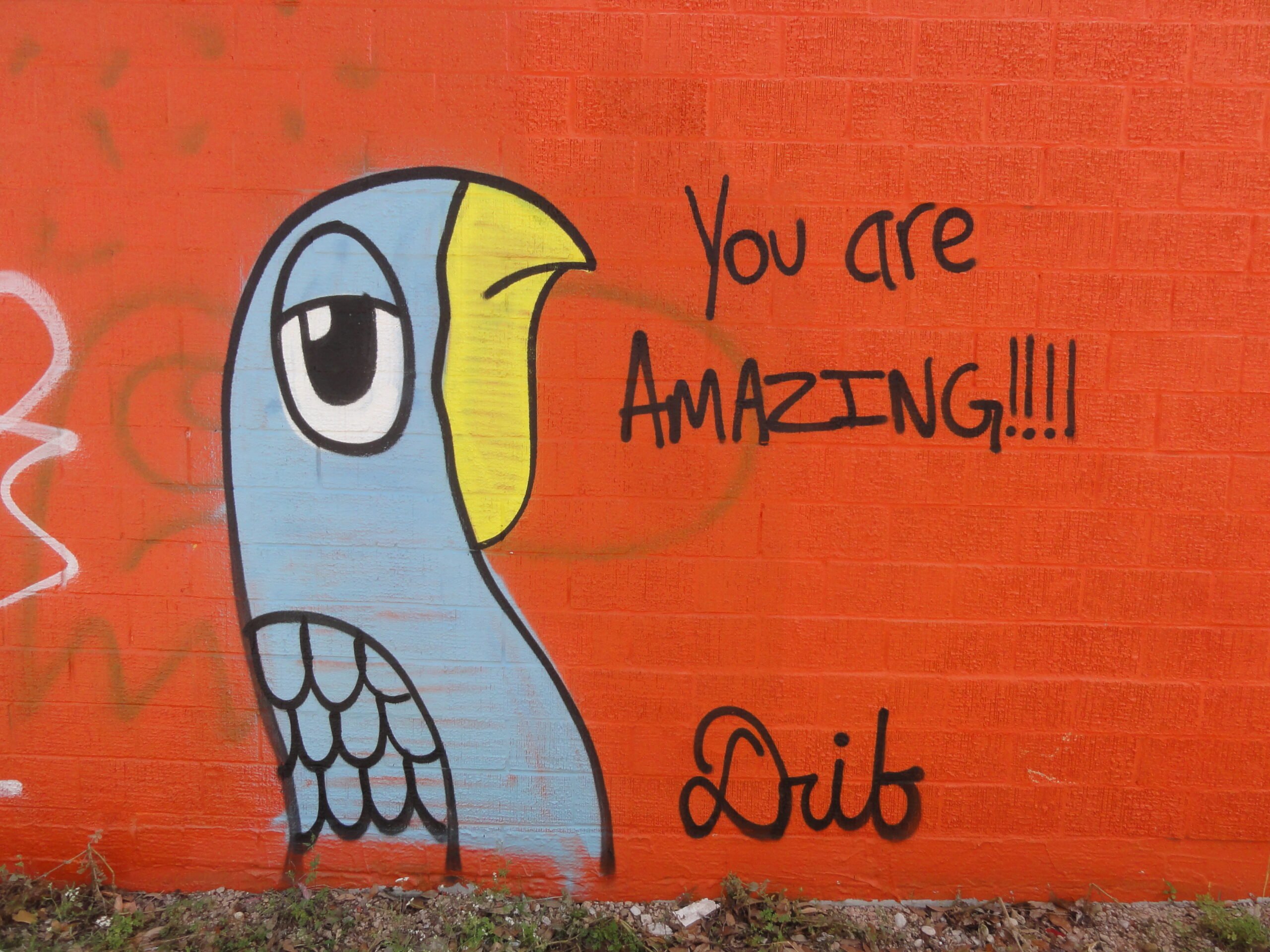 You Are Amazing Mural