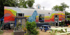Blue Cat Mural