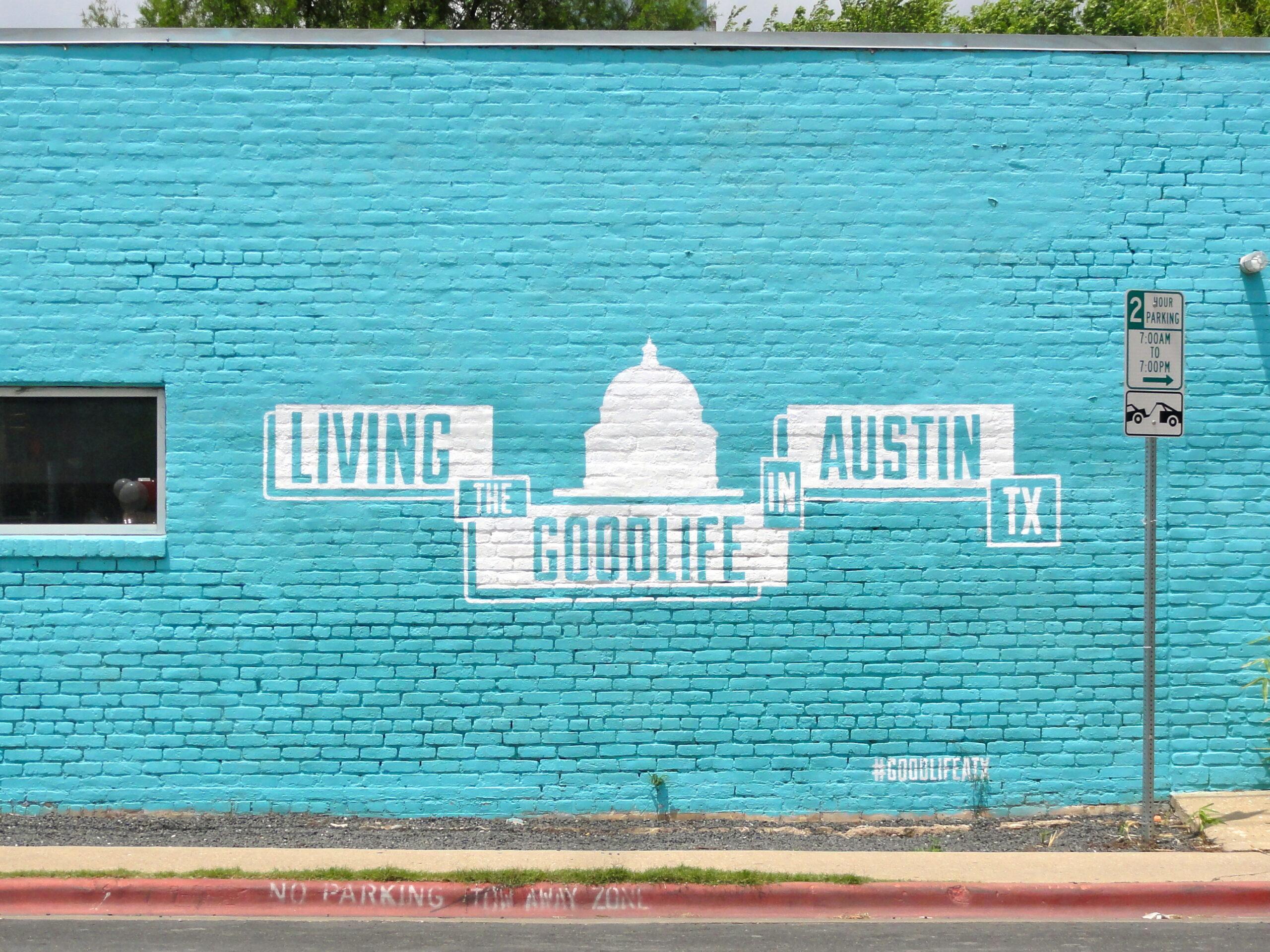 Good Life Mural