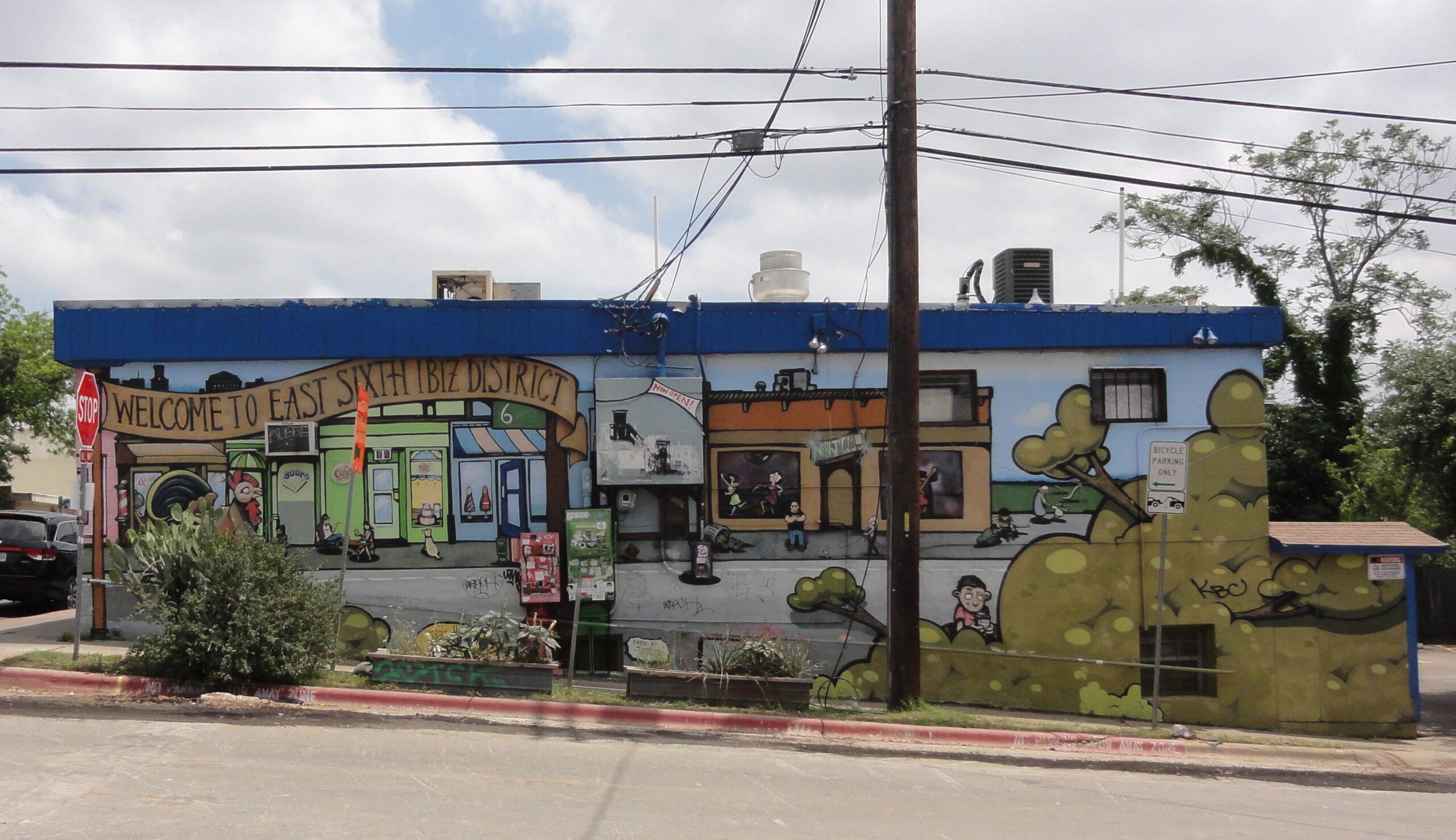E 6th IBIZ Mural