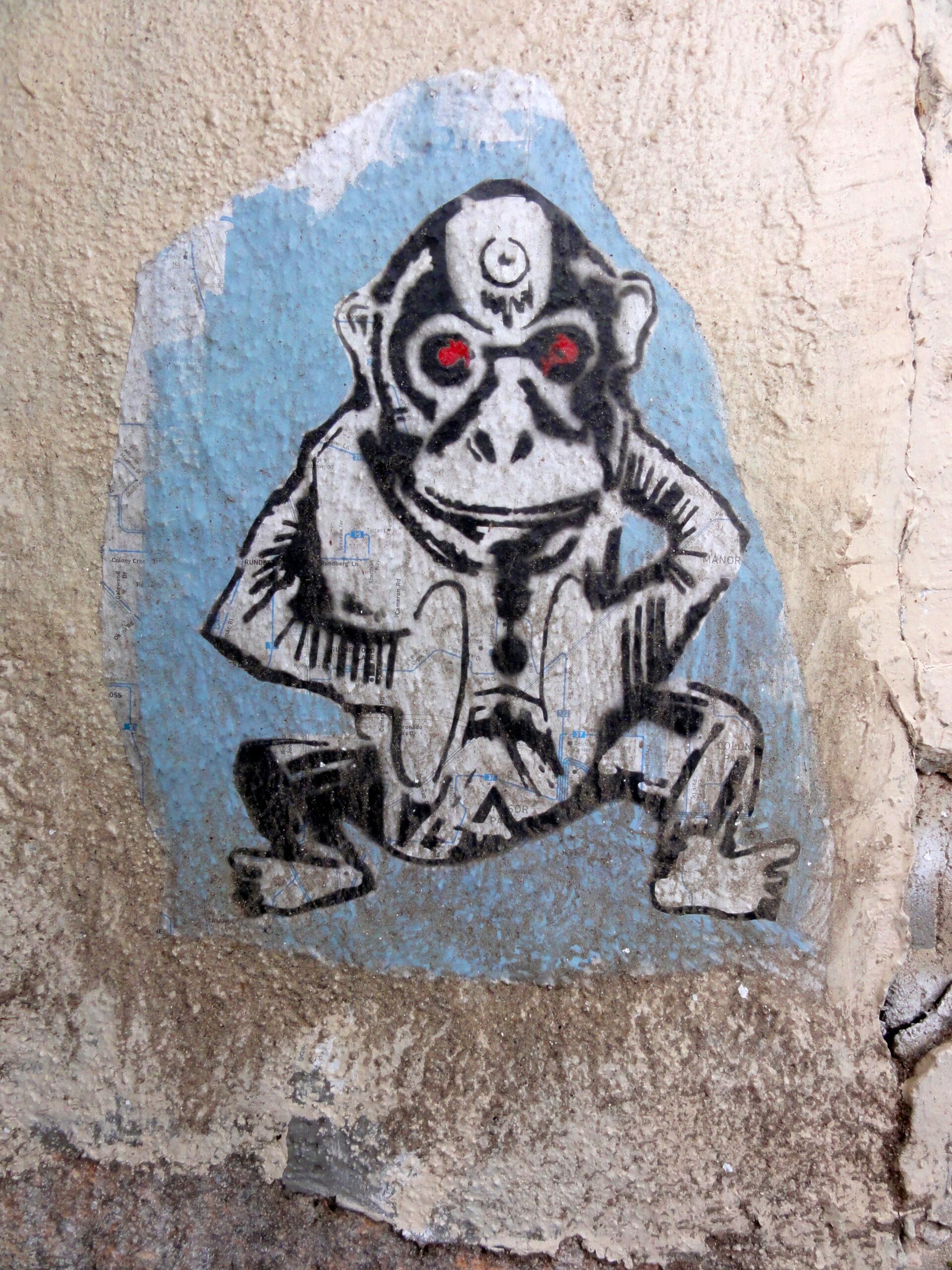 Monkey Mural