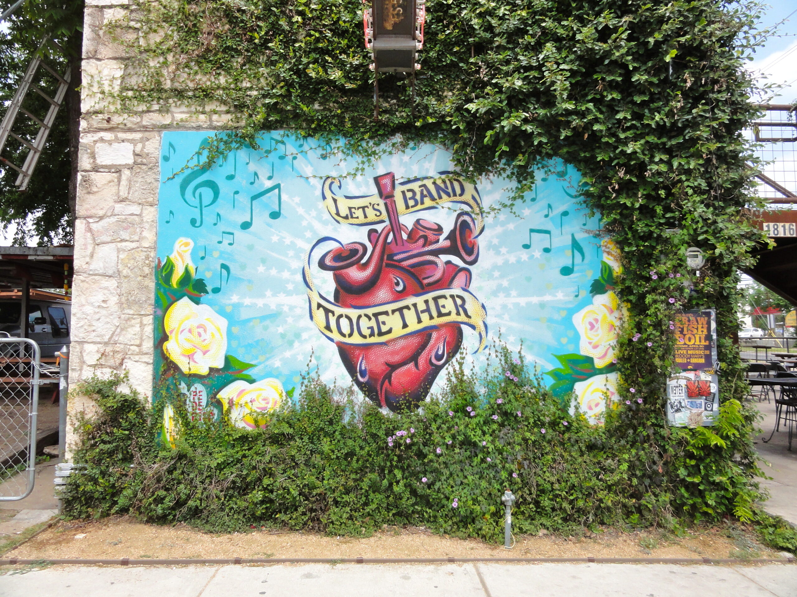Band Together Mural
