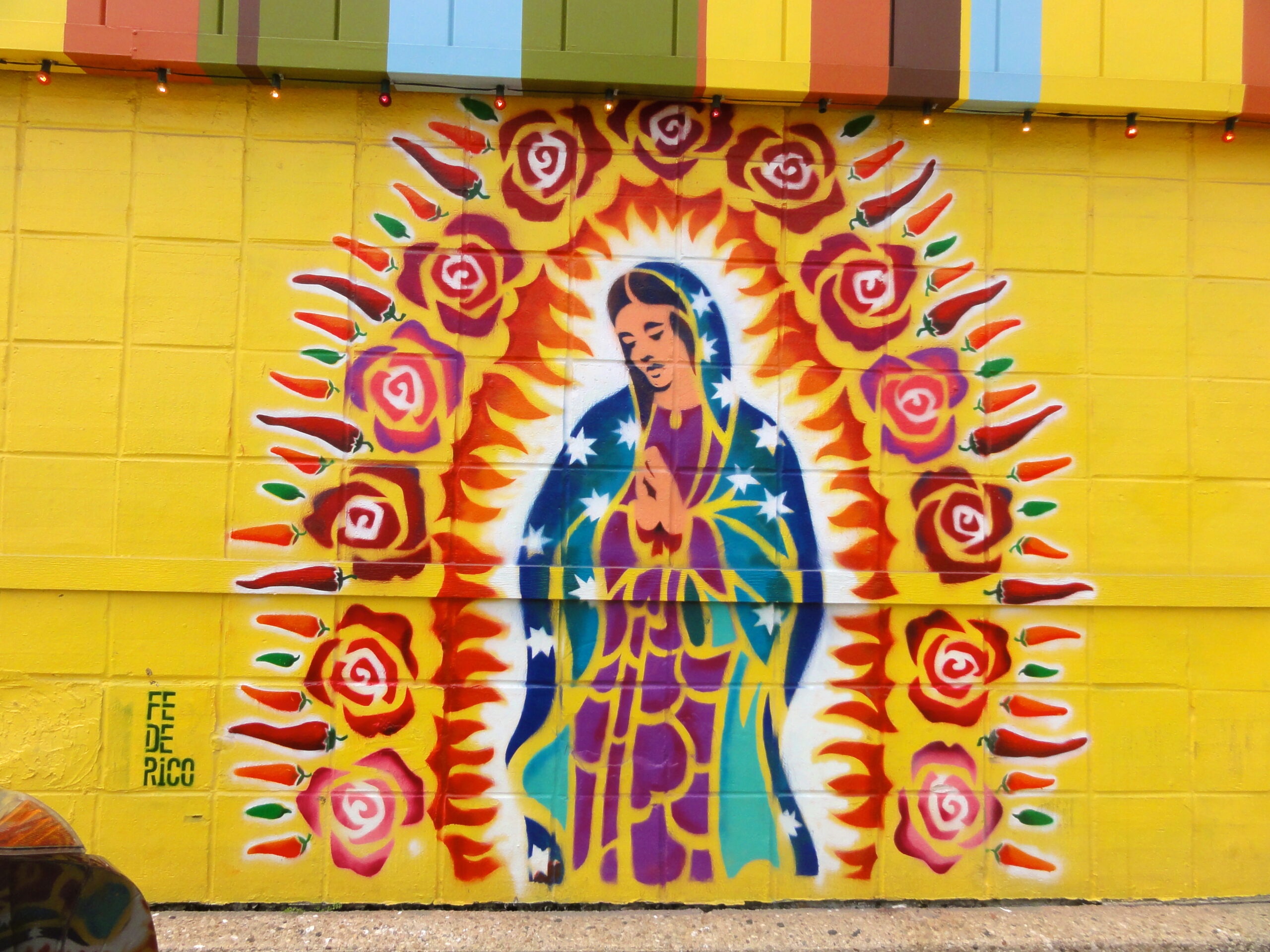 Our Lady Mural